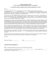 44 Fantastic Offer Letter Templates Employment Counter Offer Job