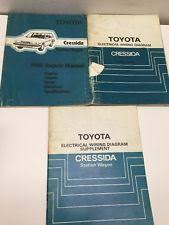 s l jpg 1985 toyota cressida oem repair manual electrical wiring diagram supplement