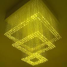 get ations colorful led fiber optic chandelier chandelier hanging three crystal square fiber optic chandelier can be set