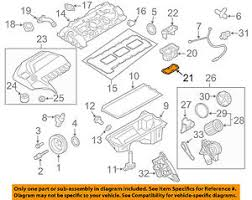 bmw oem 13 16 x3 2 0l l4 engine insert gasket 11127589830 image is loading bmw oem 13 16 x3 2 0l l4