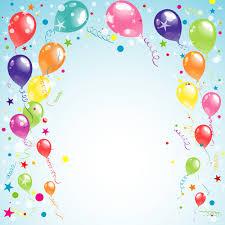 Happy Birthday Background Images Balloon Ribbon Happy Birthday Background Free Vector In Encapsulated