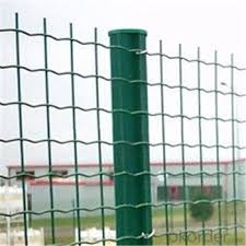 outer green pvc coated wire mesh garden