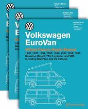 eurovan repair manual volkswagen eurovan official factory repair manual 1992 1999