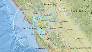 Image result for 4.4 magnitude earthquake shakes Bay Area awake