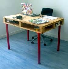 Pallets office eurozone Build desk itself - 22 exceptional DIY Office Tables
