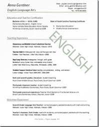 The Best Cv Resume Sampler Teaching And Administrative Jobs