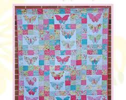 Butterfly quilt | Etsy & Flutter By Butterfly Quilt Pattern Adamdwight.com