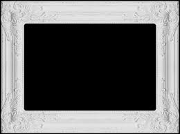 white frame wide edge