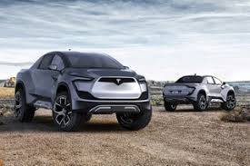 Concept Art Imagines Tesla's New Futuristic Pickup Truck