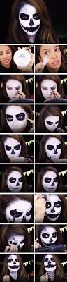 scary skeleton makeup tutorial