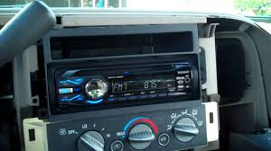 putting a new stereo in the silverado putting a new stereo in the silverado