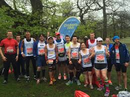 big well done to our london marathon 2016 team