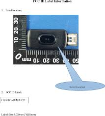 <b>Y91 Smart bracelet</b> Label Diagram FCC ID Label and Location ...