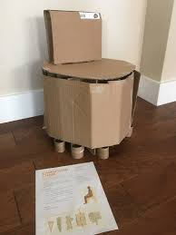 Chair Fascinating 19 Best Cardboard Chair Images On Pinterest For ...
