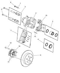 2007 chrysler pacifica brakes rear disc