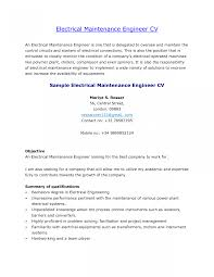 Resume Templates Building Maintenance Engineer Sample Aircraft