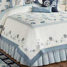 blue quilt bedding. Contemporary Quilt Treasures By Sea Quilt Dusk Blue And Bedding