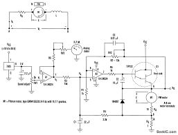 pm dc motor speed control control circuit circuit diagram pm dc motor speed control speed control of permanent magnet