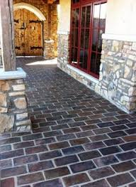 This Beautiful Spanish Style Outdoor Walkway Is Laid In 6x12 Manganese  Saltillo Tile. Pergola Patio