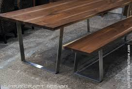 Building Dining Table Bending Vs Welding Mild Steel Flat Bar Metalworking