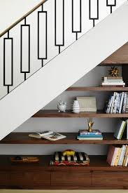 stairs furniture. Amazing Metal Stair Rail And Storage Under The Stairs Furniture