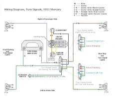 mercury an american legacy 1951 mercury wiring diagram for turn signal and brake lights how do the brake lights and turn signals work together using the same bulb filament