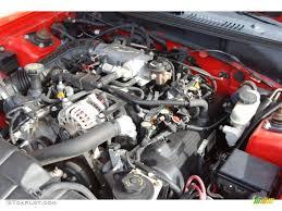 1999 Ford Mustang GT Coupe 4.6 Liter SOHC 16-Valve V8 Engine Photo ...