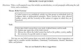 thematic essay by ray harris jr thematic essay