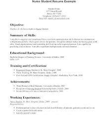 Resume For Nurses Cover Letter Examples For Registered Nurses