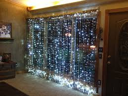 How To Decorate Window With Lights Lighted Christmas Window Using Electrical Bars And Led