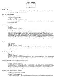 Maintenance Job Resume Objective General Maintenance Resume Sample Resume For Maintenance Technician