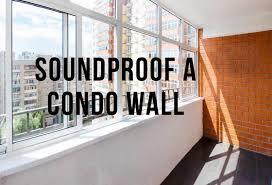 soundproofing common condo walls 7