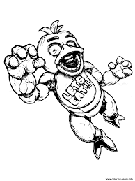 Print Fnaf Freddy Five Nights At Freddys Lets Eat Coloring Pages