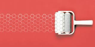 Patterned Paint Rollers Gorgeous Patterned Paint Rollers On Behance
