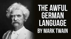 mark twain essay in german language  mark twain essay in german language