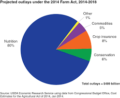 Cbo Budget Pie Chart Focus On Snap The Largest Farm Bill Program Farm Policy News