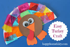 Thanksgiving Craft For Kids Easy Turkey Craft Happy Home Fairy