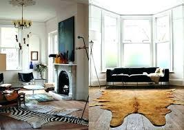 ikea hide rug cowhide floor decor home uk rugs terrific cow skin size review