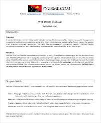 Freelance Proposal Template Freelance Proposal Template Sample Work