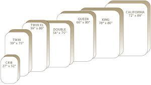standard bed sizes chart. View Larger. Mattress Size Chart Standard Bed Sizes E