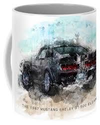 The 1967 Shelby GT-500 Eleanor Coffee Mug for Sale by Gary Bodnar