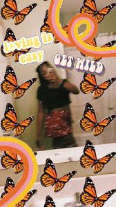 Aesthetic Butterfly Wallpaper Vsco ...