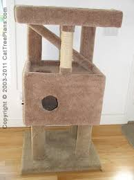 plan 8 diy cat furniture build a tree41