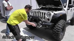 simple winch install the newerejk jeep simple winch install the newerejk jeep