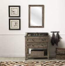36 inch Rustic Modern Bathroom Vanity Fully assembled Moon Stone