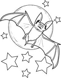 Small Picture Moon Halloween Coloring Pages Halloween Wizard