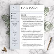 professional resume template the blake landed design solutions professional resume template the blake perfect resume templates 2