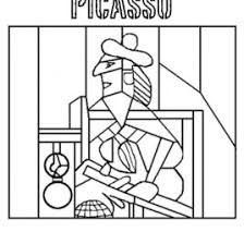 Small Picture Picasso Face Coloring Page Kids Drawing And Coloring Pages