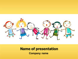 Kids Powerpoint Background Funny Kids Powerpoint Template Backgrounds 07045