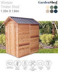 windsor timber shed 1 325m x 1 84m